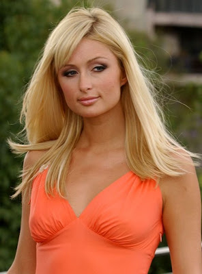 Paris Hilton On Orange