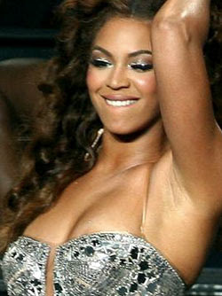 Beyonce's Wardrobe Malfunction at Gig
