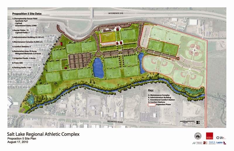 Regional Sports Complex Salt Lake City