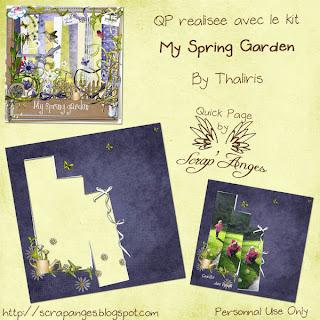 QP My Spring Garden