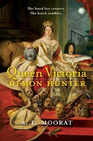 Copertina di Queen Victoria: Demon Hunter