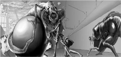 Concept art del videogame di The Host 2