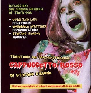 Poster dell'incontro I tre volti della paura