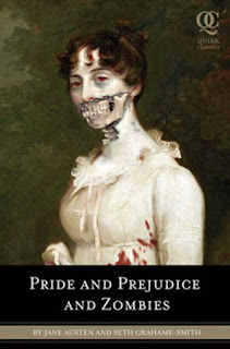 Copertina di Pride and Prejudice and Zombies