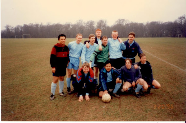 Anglia Polytechnic University, UK football 3rd team 95-96