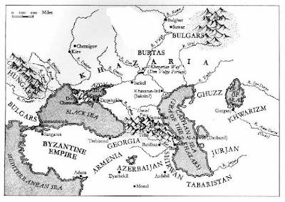 The Jewish Khazarian Empire ca. 950 - 1150 AD