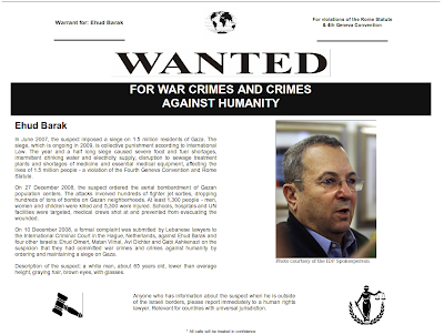 Wanted for War Crimes! Ehud Barak is Terrified - not by Hamas, but by the consequences of his own actions