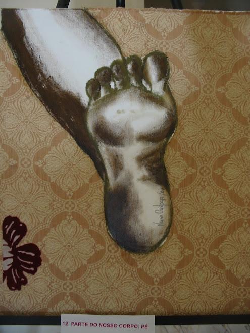 Parte do nosso corpo: pé