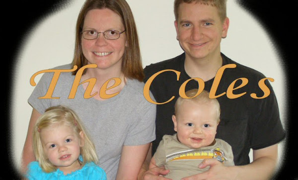 The Cole Family Blog