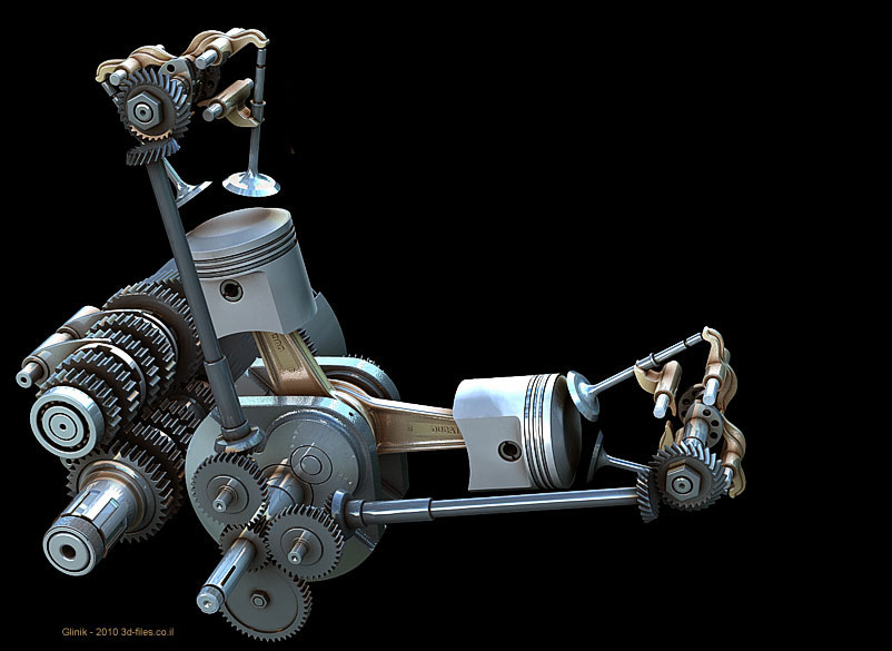 Desmo Drive Car Engine