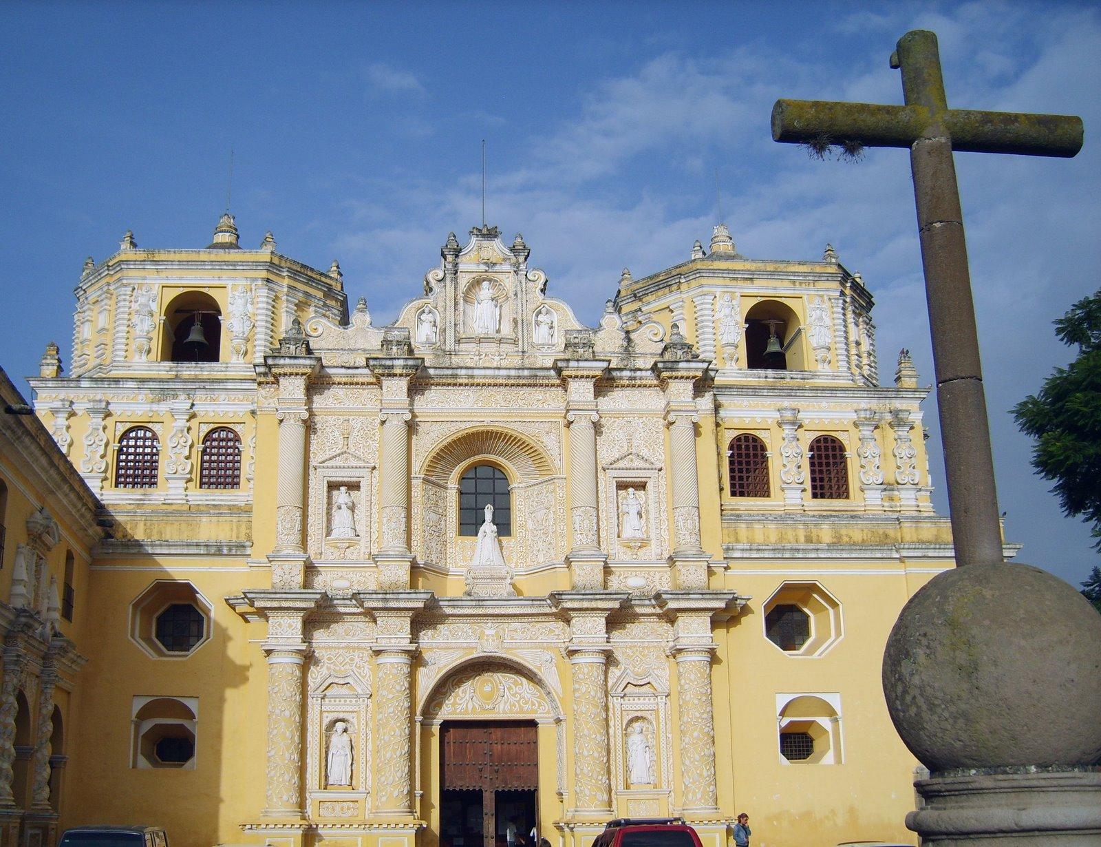 iglesia de la merced, la antigua guatemala