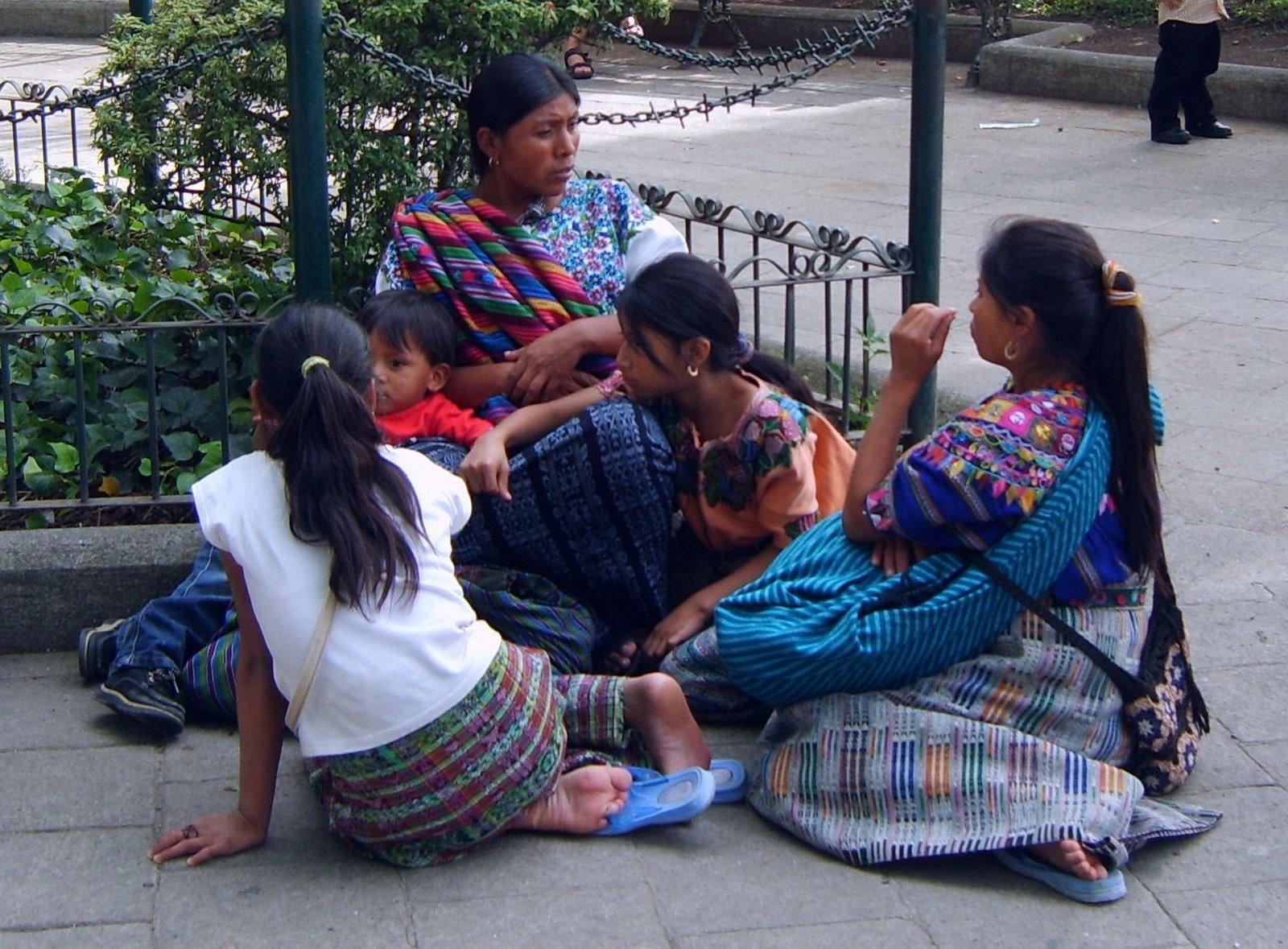central park, la antigua guatemala