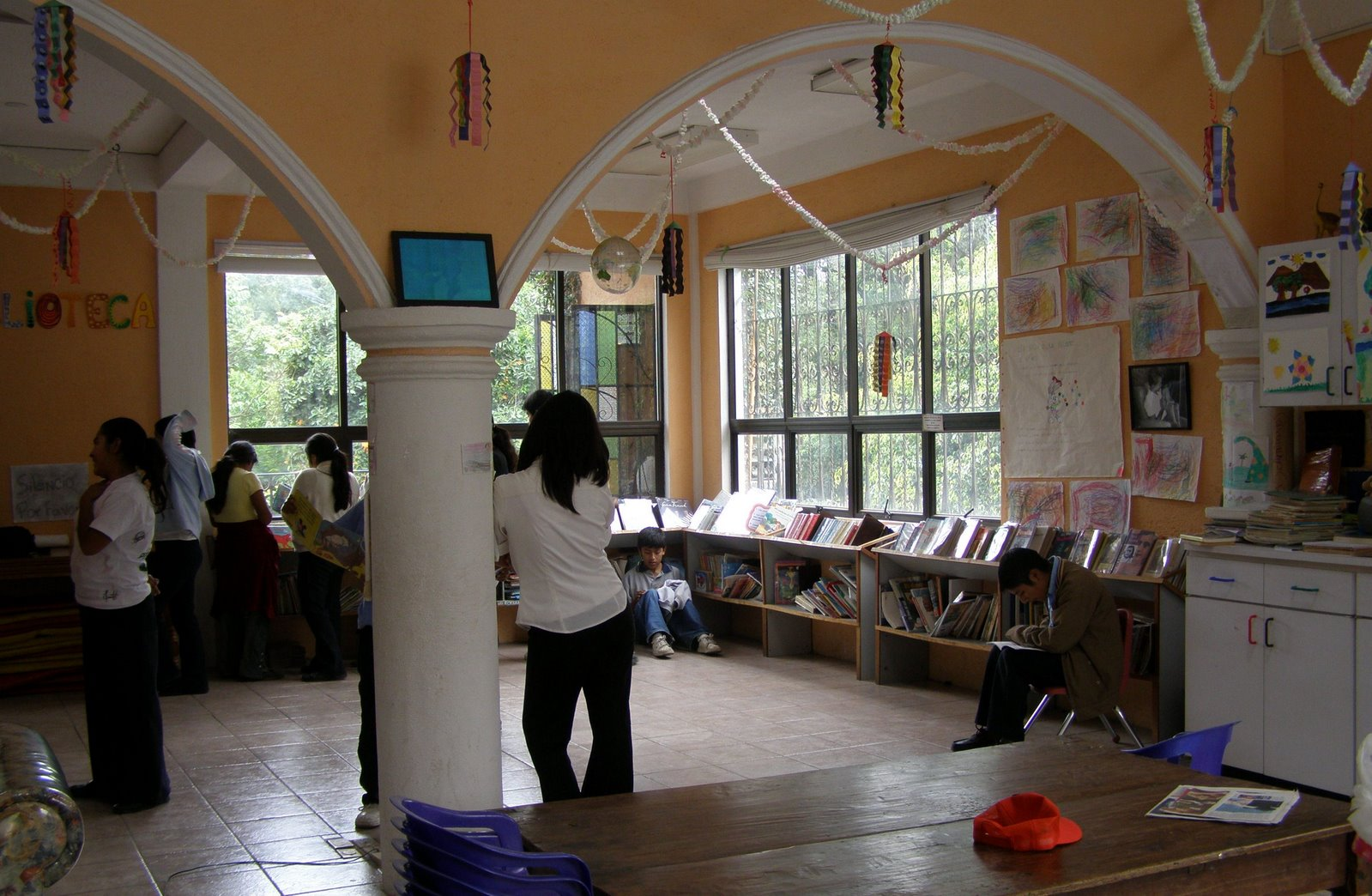 dreamer center library