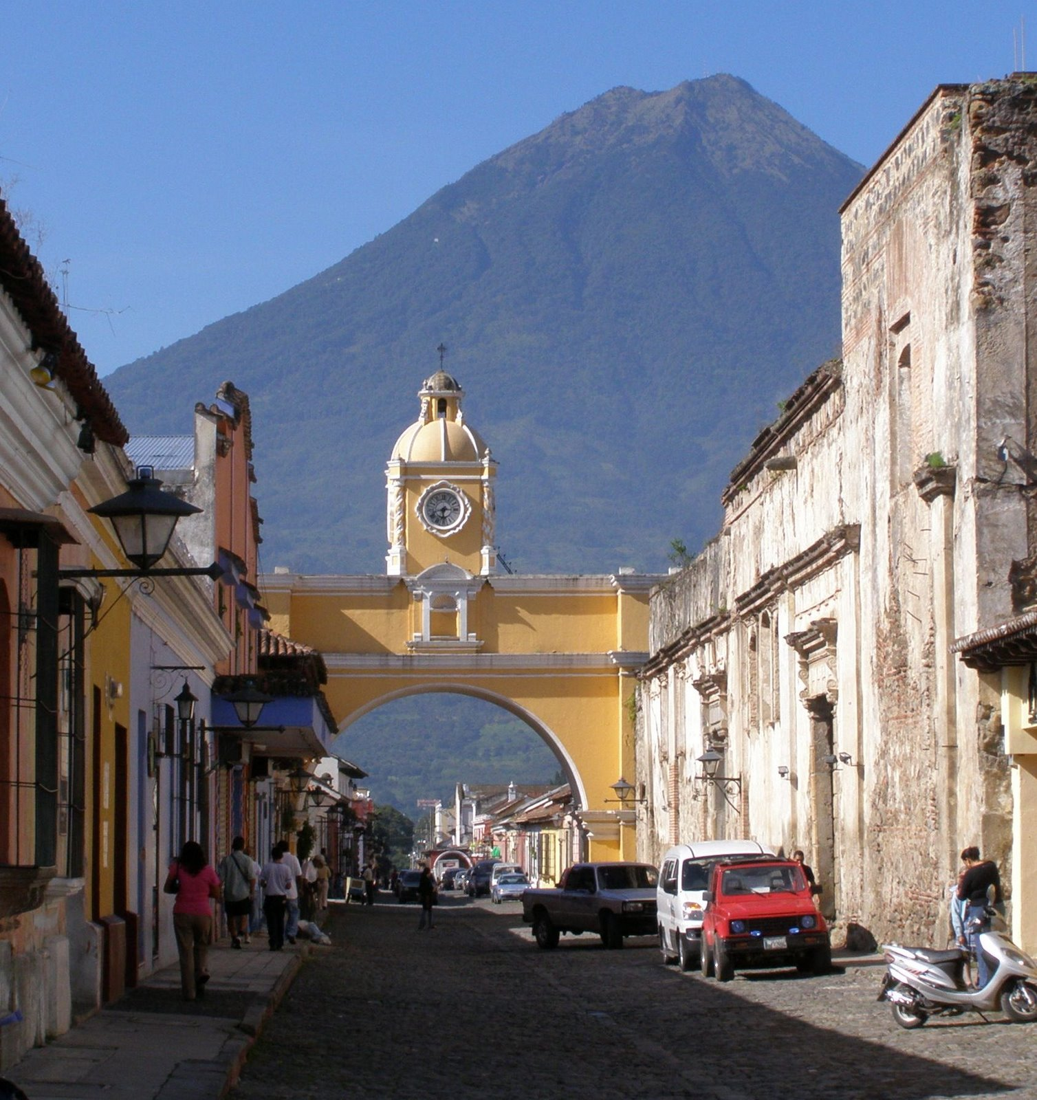 arch of Santa Catalina, Antigua Guatemala