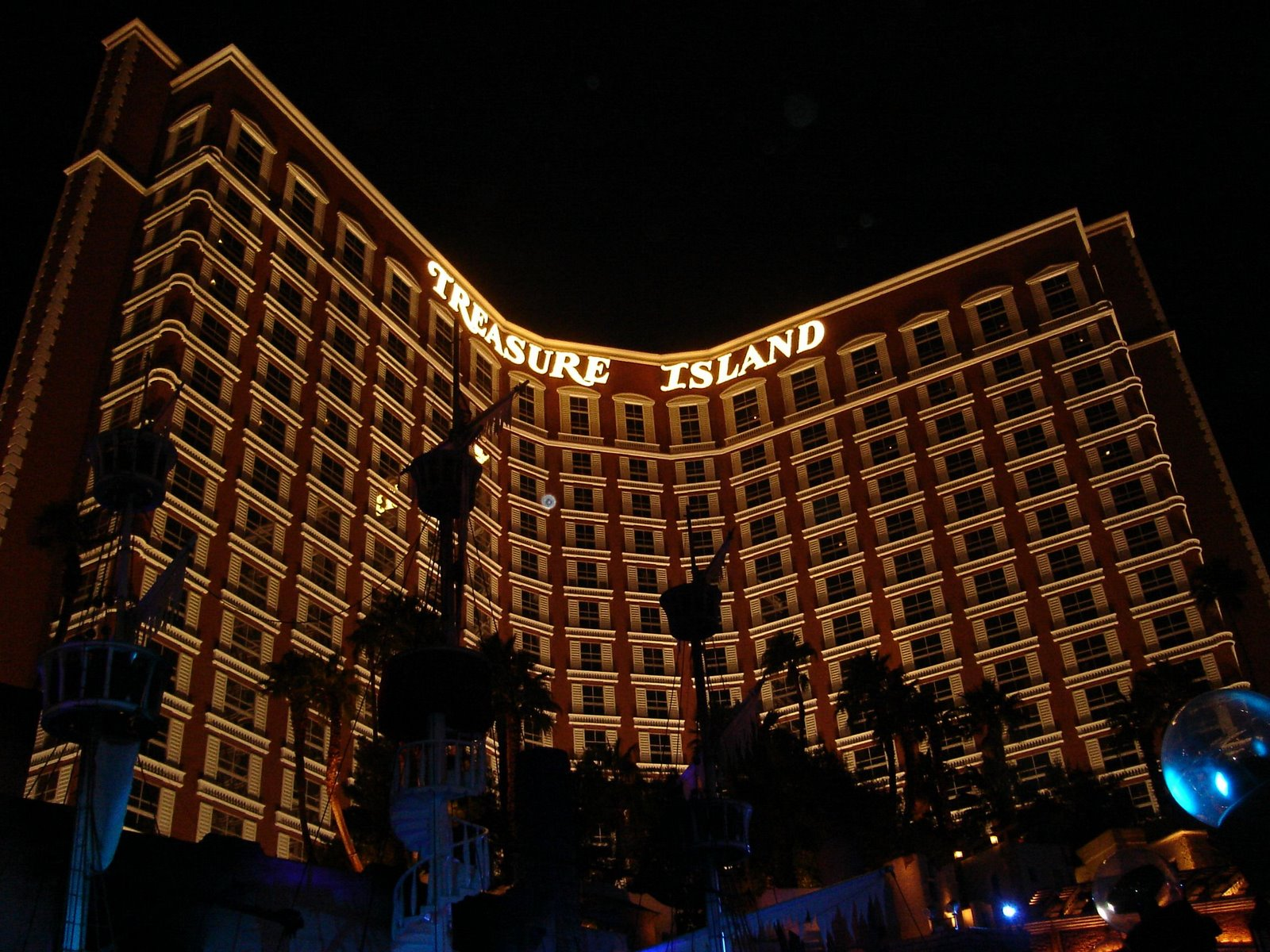 treasure island, las vegas