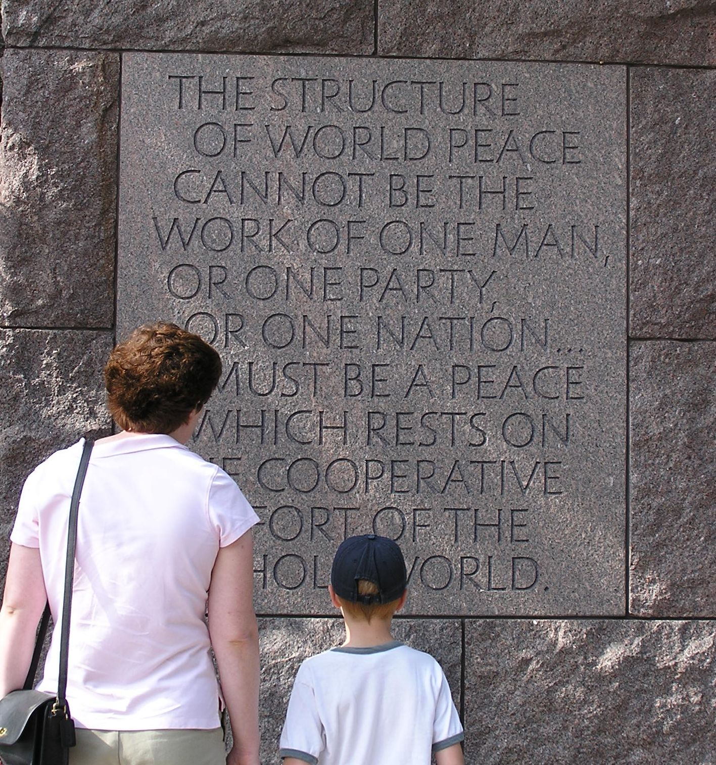 fdr quote, memorial, washington dc