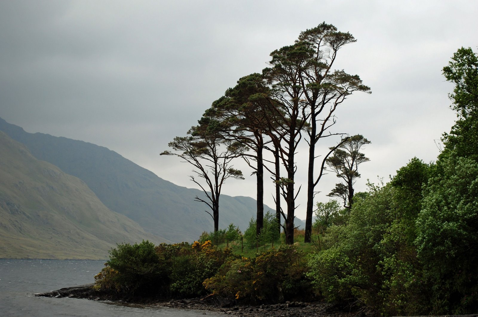 doo lough, county mayo, ireland