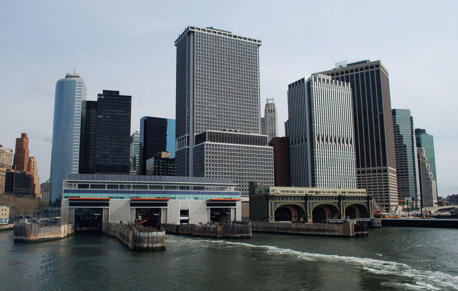 lower manhattan,staten island ferry terminal