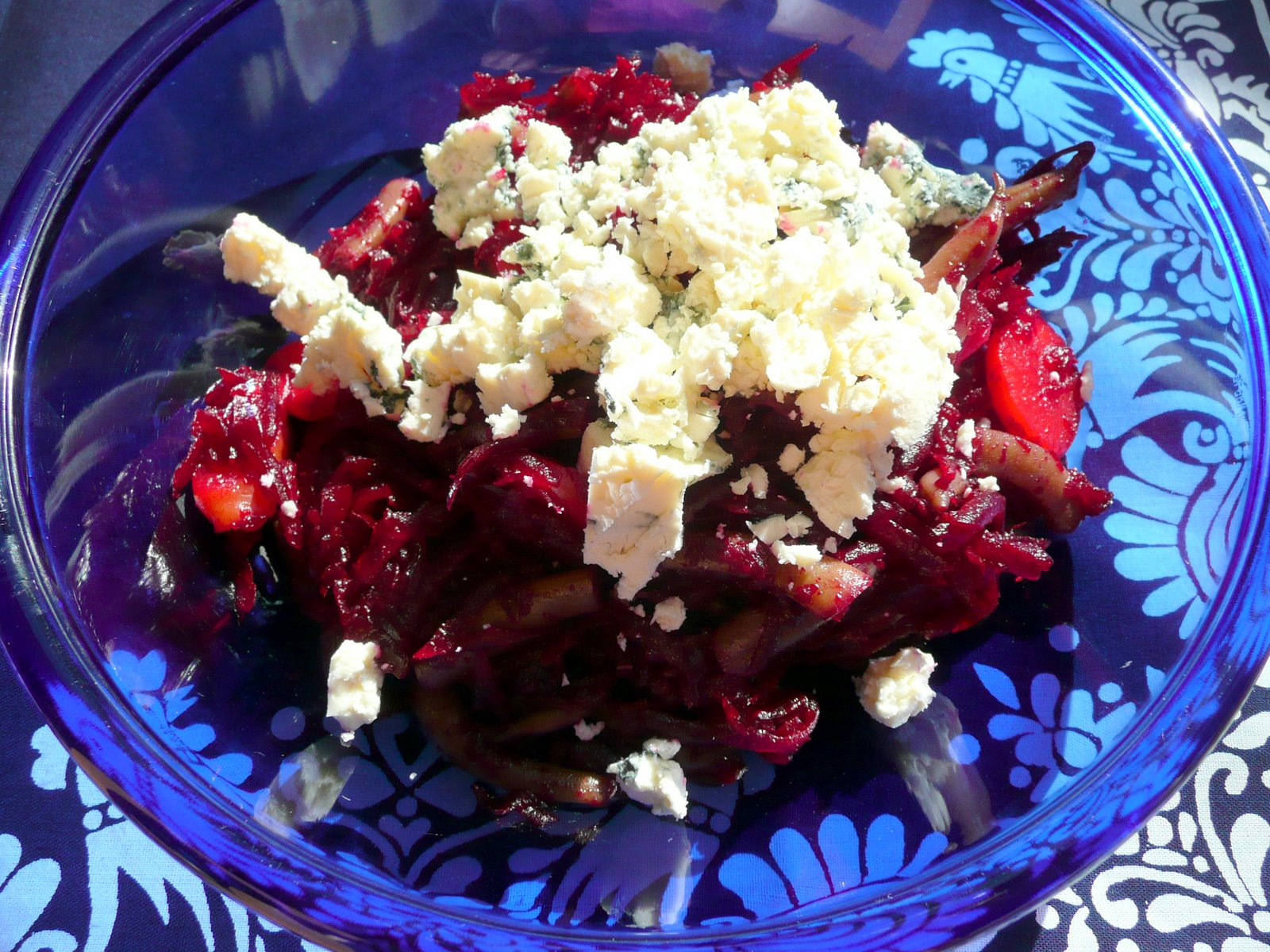 Red Beet Salad how I like it.