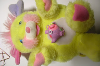 Tickles Popples et son compagnon