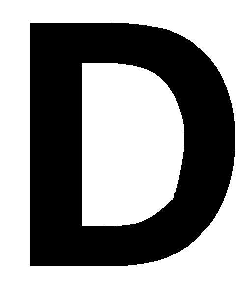 Bubble Letter D | New Calendar Template Site