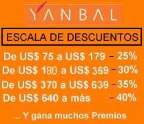 ESCALA DE DESCUENTOS - Consultoras YANBAL