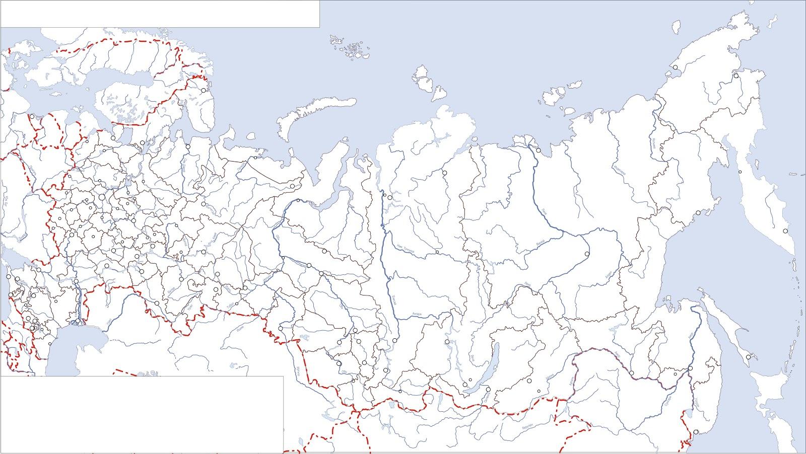 Контурная Карта Евразия