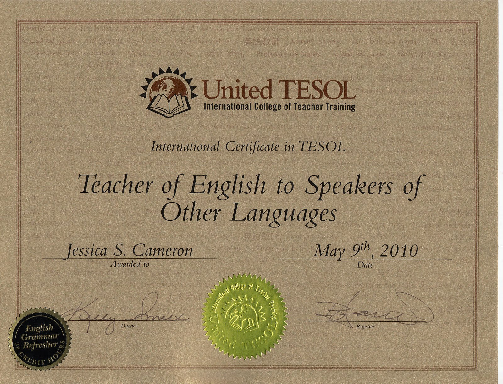 The Importance Of Tesol Teaching The English Language To Speakers Of