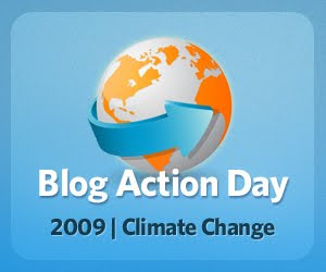 blog action day 2009 climate change