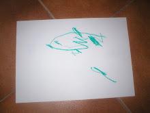 O 1.º desenho de um Peixe lua...