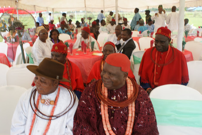 HRM Obuenwe of Emu Kingdom and Chief Popo of Warri