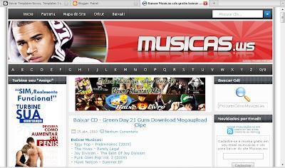 Template Musicas.ws