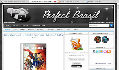 Template do Perfect Brasil para Blogger
