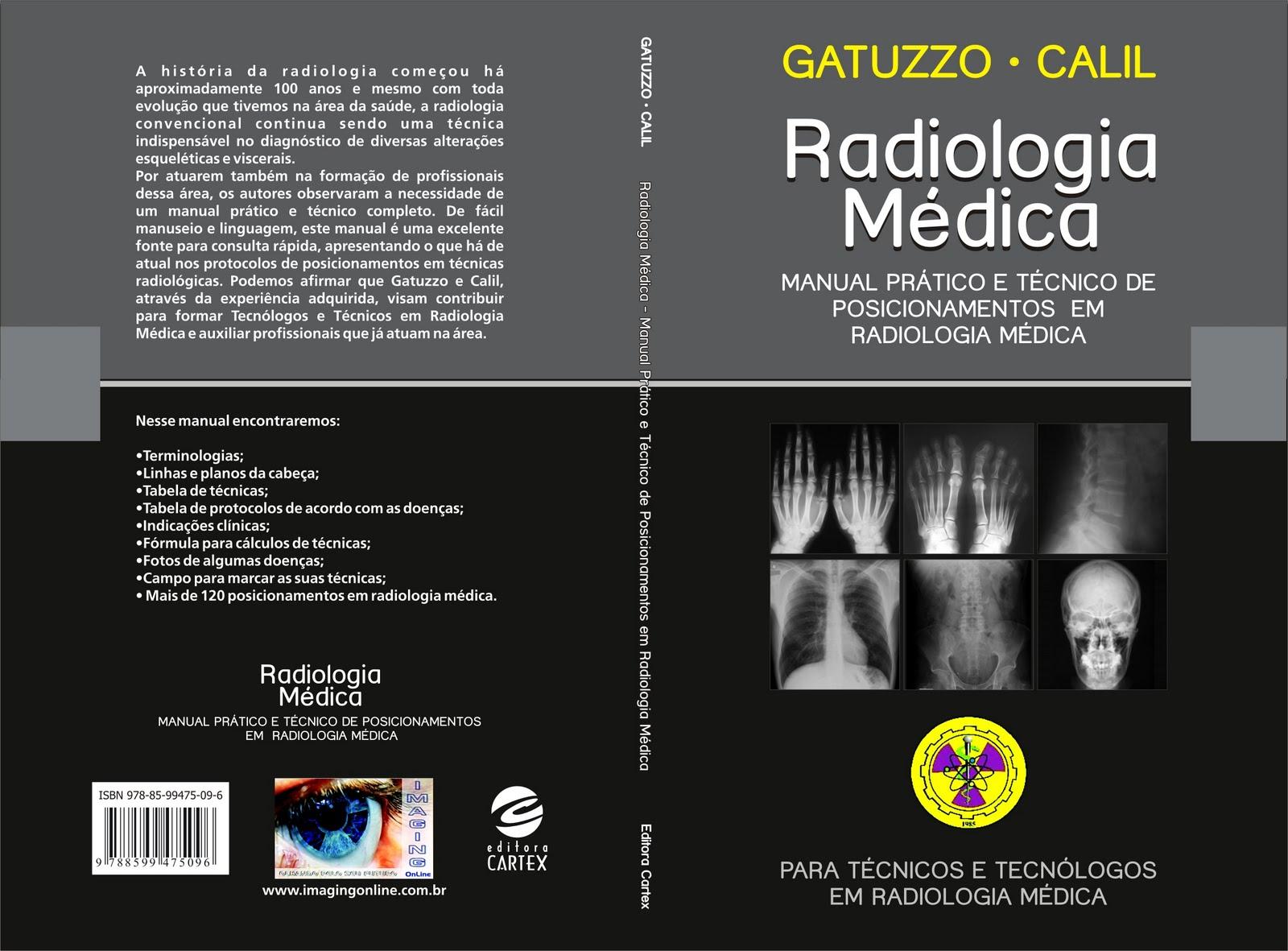 Portfólio | Kelly de Castro Martins: Livro | Radiologia