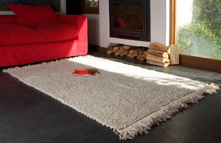 Lanatura alfombras 100 lana de oveja - Alfombra oveja ...