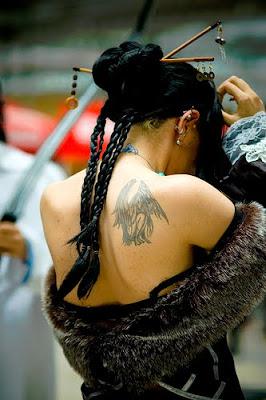ailes tatouage femme