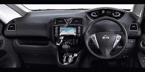 Display more modern dashboard with a special instrument panel