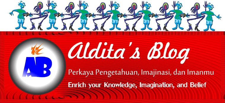 Aldita's Blog