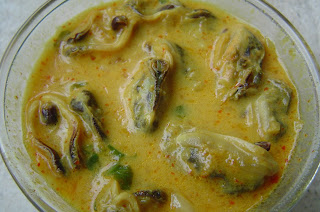 Mussel Curry with Coconut Milk
