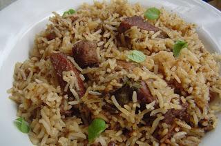 Lucknowi Awadhi Mutton biryani, Kewra, Nutmeg, Mace