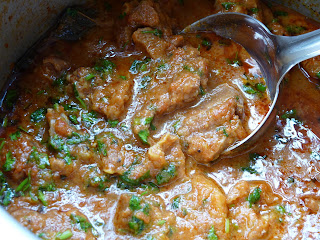 mutton curry from Delhi, North Indian goat meat curry