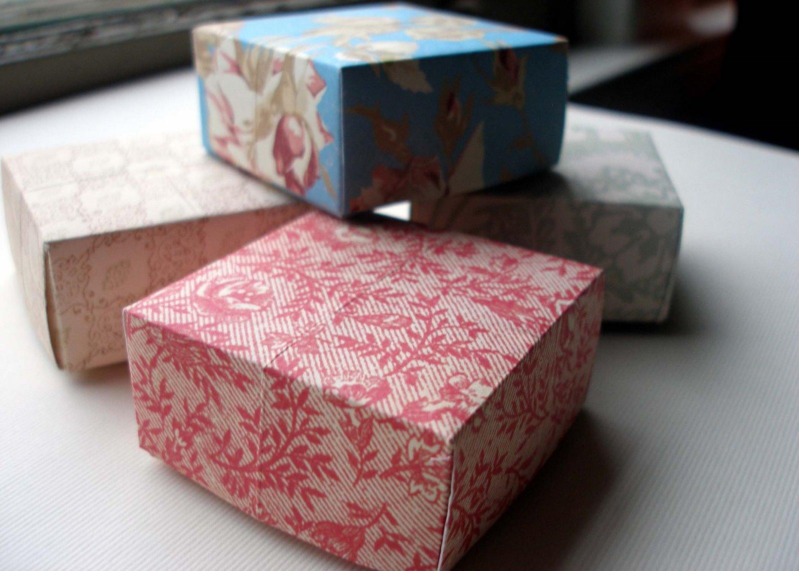 Какую можно сделать коробку своими руками