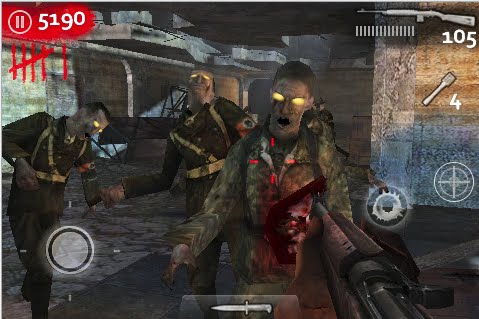 THE BEST IPHONE GAMES Nazi+Zombies+iphone+app1
