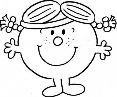 Little Miss Drawings Little Miss Sunshine Wearing a