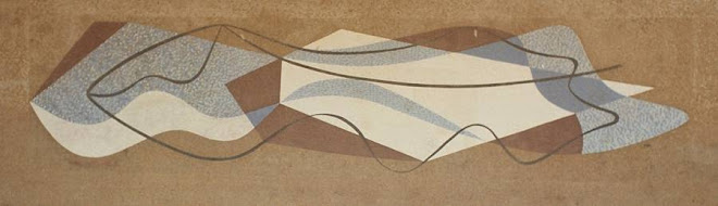 """Abstrato"", obra de Paulo Werneck no prédio do ""Colégio Cataguases""."