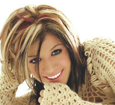 highlights for dark brown hair 2011. Dark Brown Hair With Red Highlights