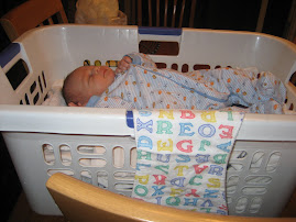 Helping mommy with the laundry