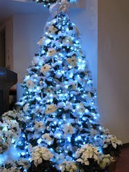 Blue LED Christmas Tree