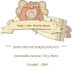 DIPLOMA OTORGADO POR LAURA