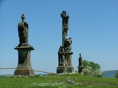 Hill of Crosses outside Ruda U Rymarova